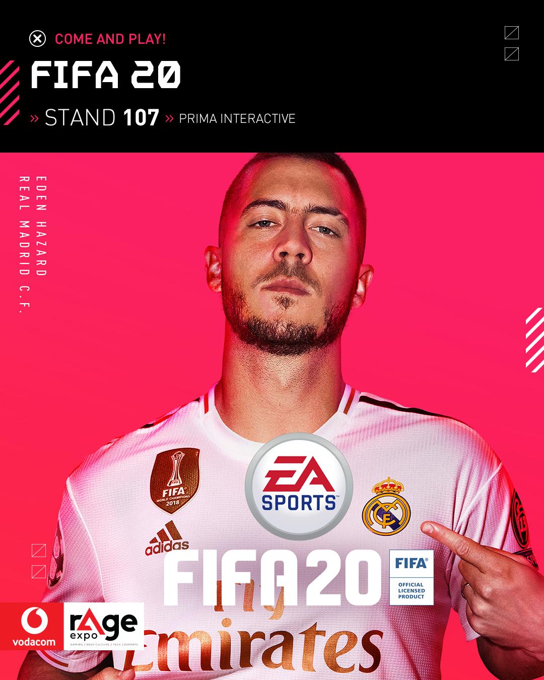 Vodacom rAge 2019 - FIFA 20