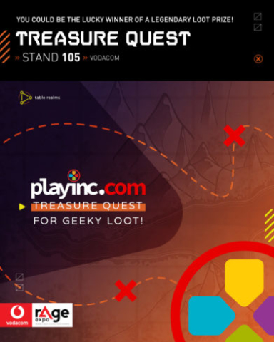 Vodacom rAge 2019 - Treasure Quest