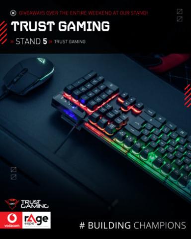 Vodacom rAge 2019 - Trust Gaming