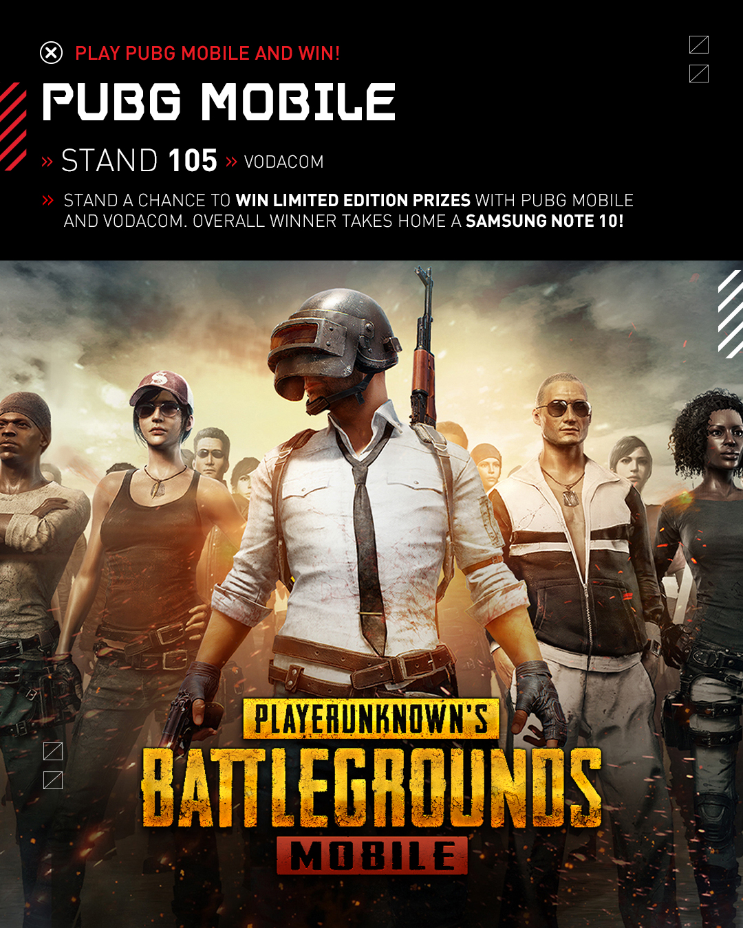 Vodacom rAge 2019 - PUBG Mobile