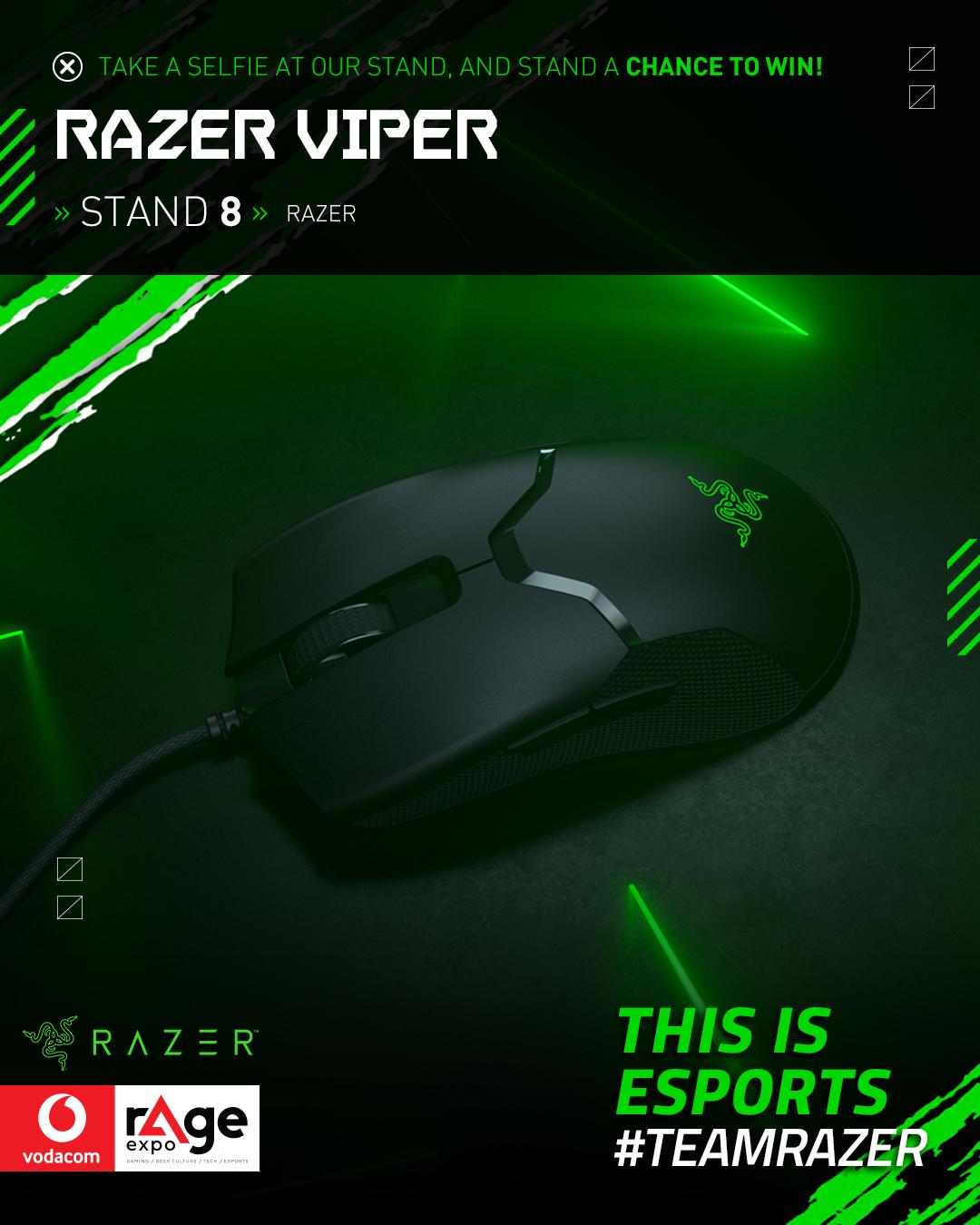 Vodacom rAge 2019 - Razer Viper