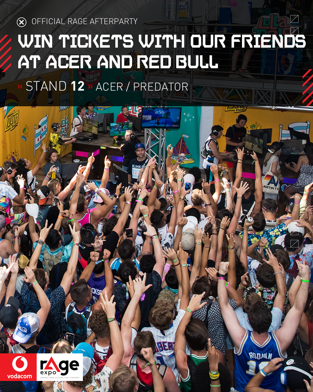 Vodacom rAge 2019 - Acer and Red Bull