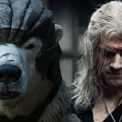 Iorek and Geralt