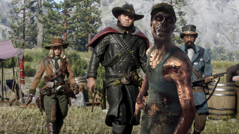Red Dead Online Zombies