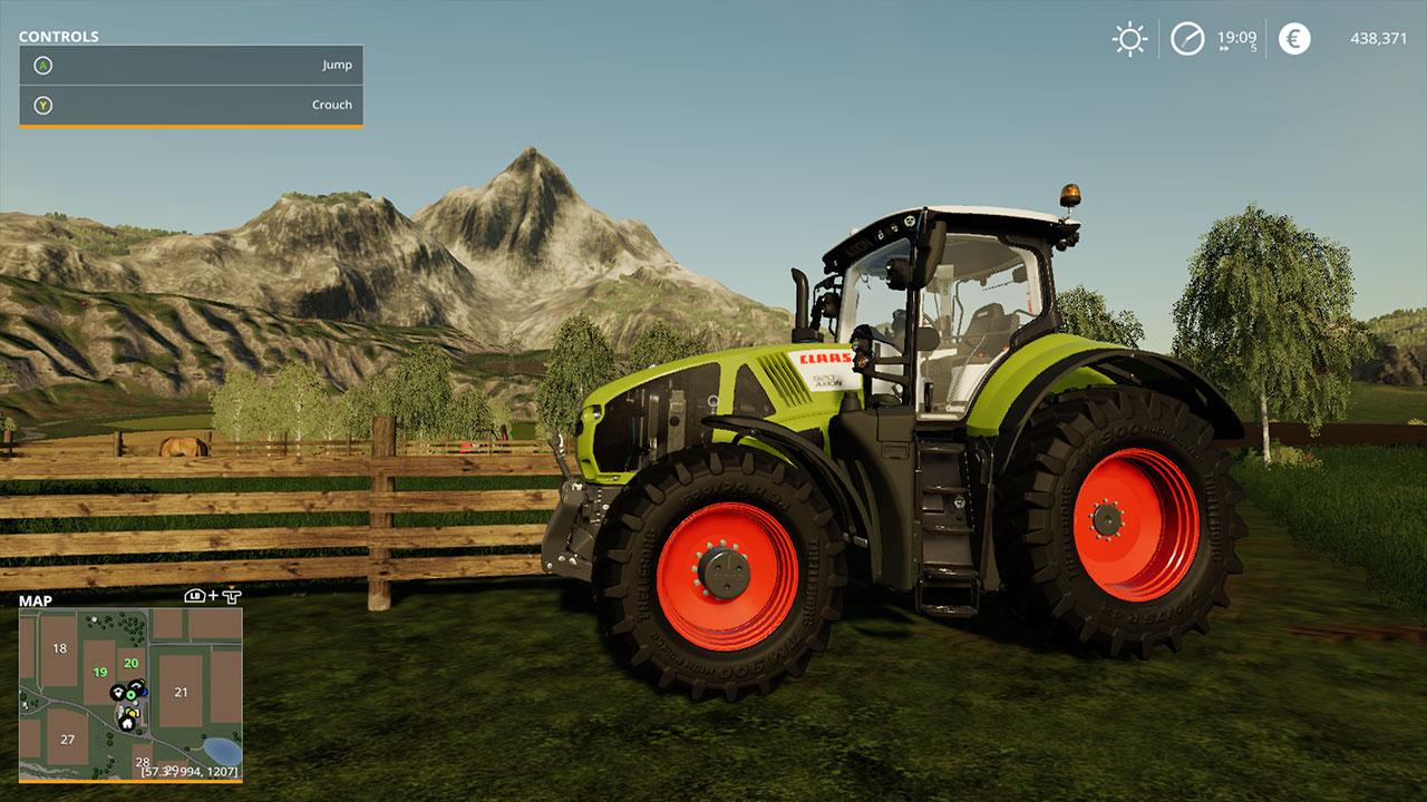 Farming Simulator 19 CLAAS Tractor