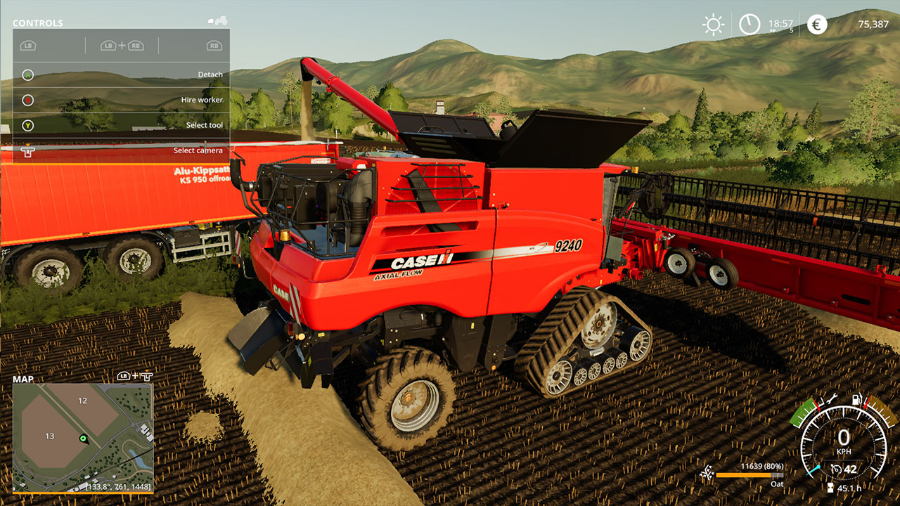 Farming Simulator 19 Harvester