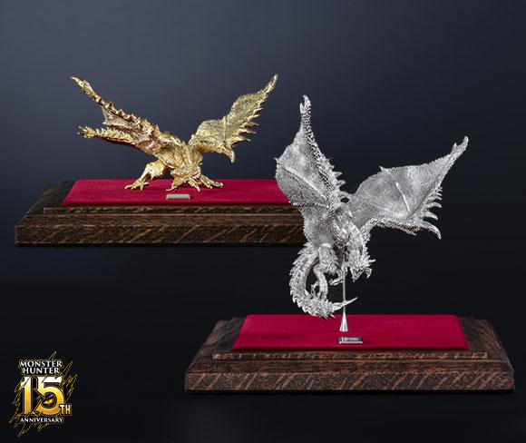 Monster Hunter 15th Anniversary Statuettes