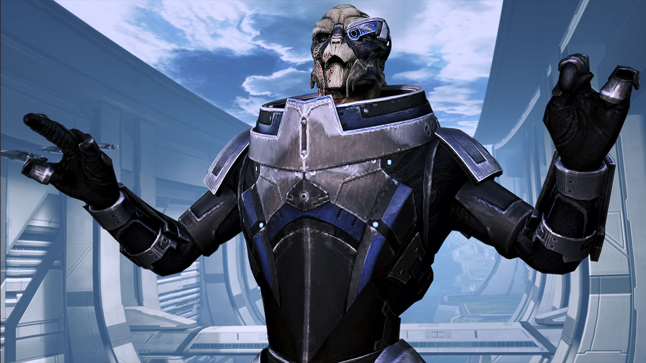Mass Effect Garrus