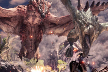 Monster Hunter Rathian and Rathalos