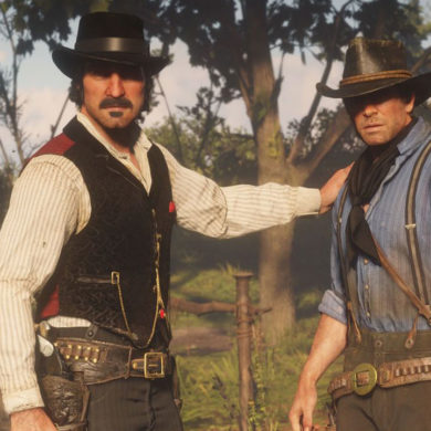 Red Dead Redemption 2 Dutch and Arthur