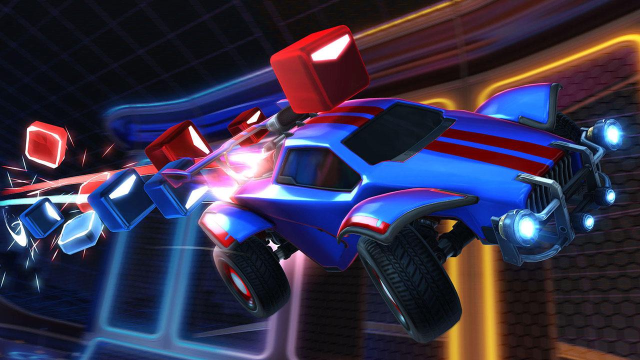 Rocket League Beat Saber