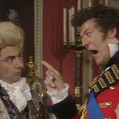 Blackadder Duke of Wellington