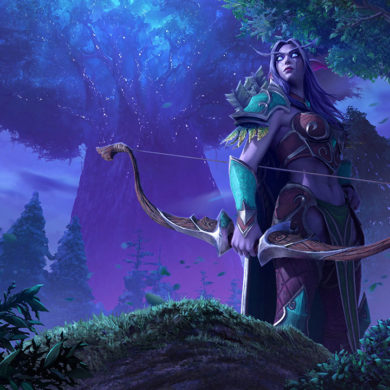 Warcraft III: Reforged Night Elf