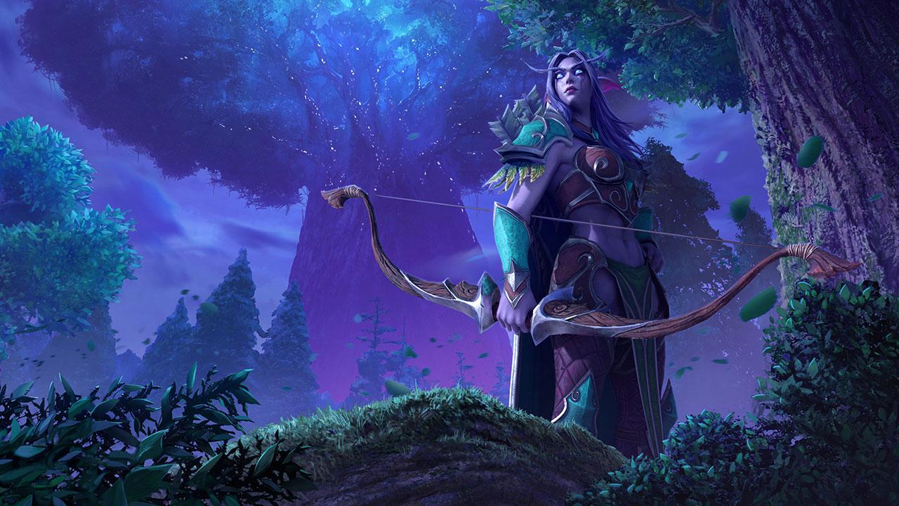 Warcraft III: Reforged Night Elf
