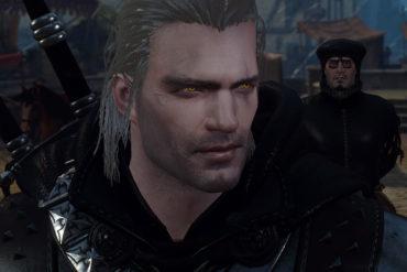 Witcher 3 Cavill Geralt Mod