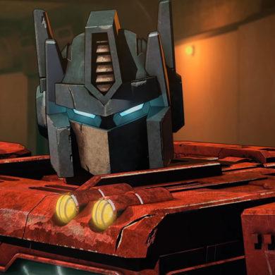 Transformers Netflix Trilogy Optimus