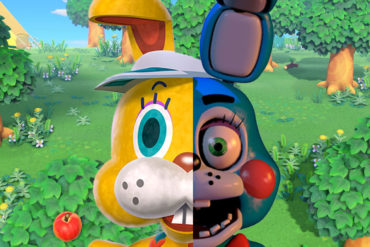 Animal Crossing:New Horizons Zipper Horror
