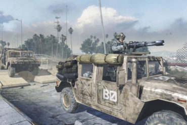 Call of Duty Humvee
