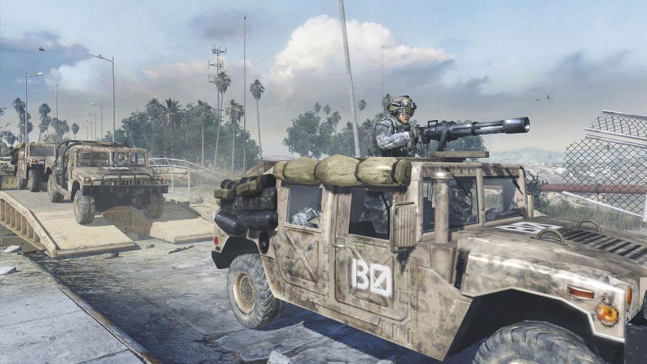 Call of Duty Humvee