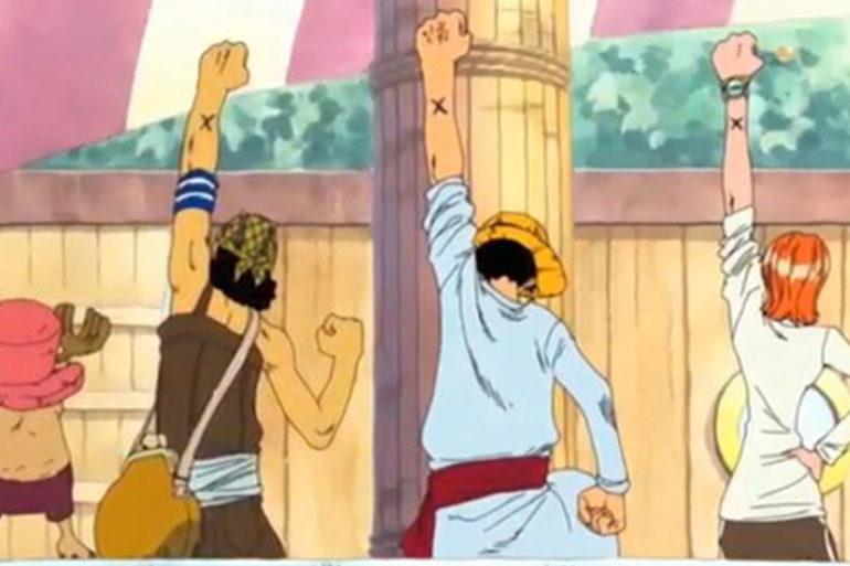 One Piece Crosses