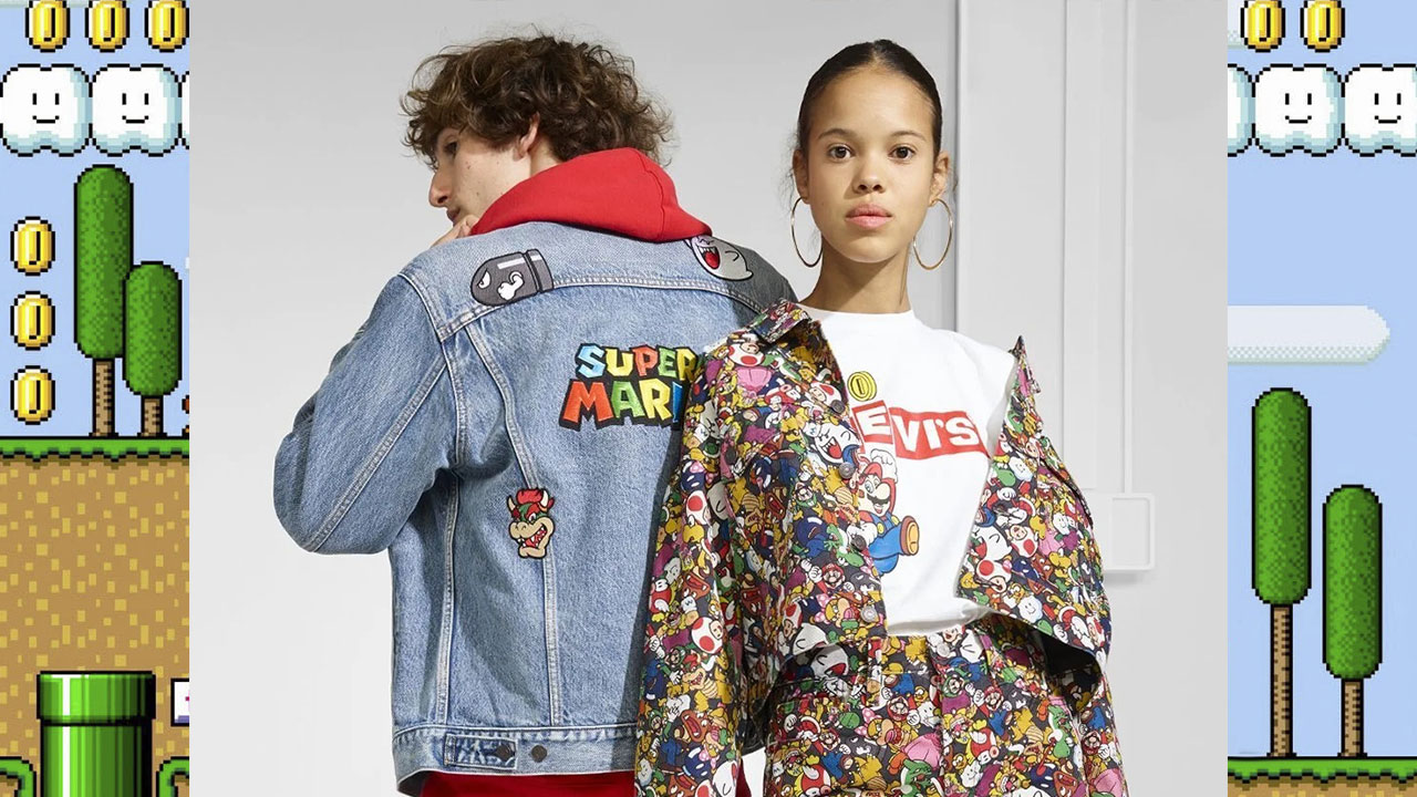 It's pretty much Friday, so check out this official Super Mario x Levis clothing line - NAG
