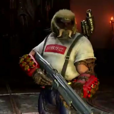 Doom Eternal Mullet Slayer