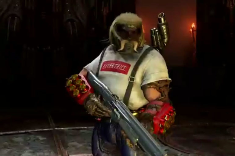 Doom Eternal Mullet Slayer