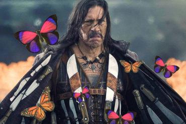 Danny Trejo Butterflies