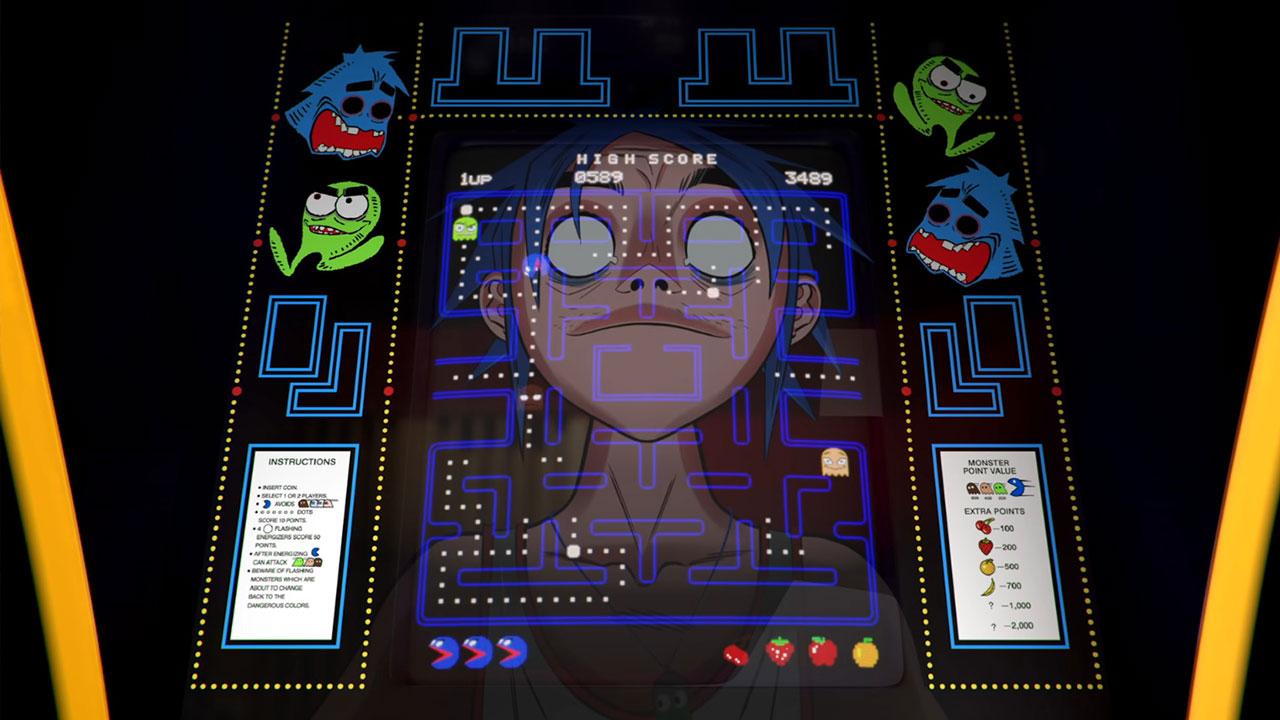 Pac-Man Gorillaz