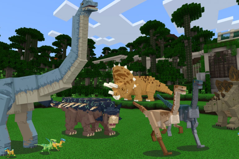 Minecraft Jurassic World