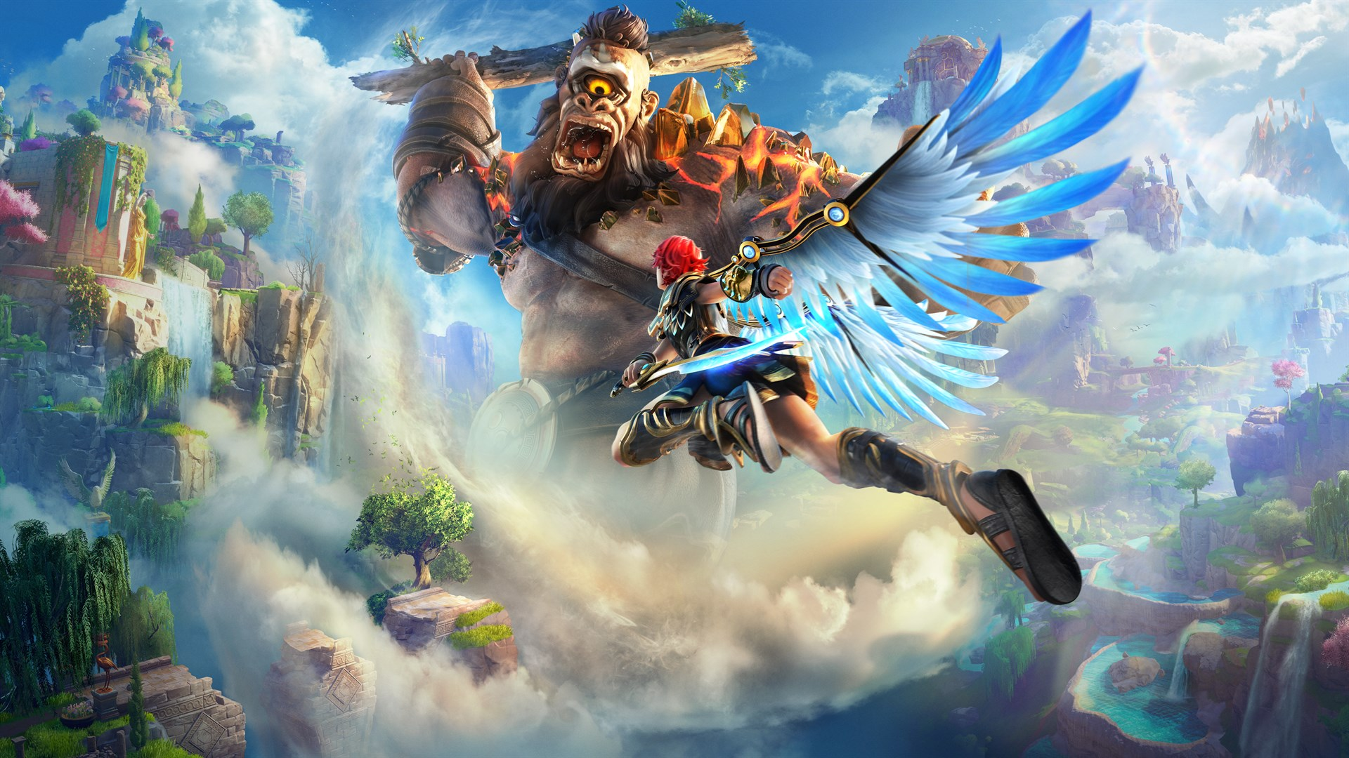 Immortals Fenyx Rising's launch trailer introduces a world that needs a hero - NAG